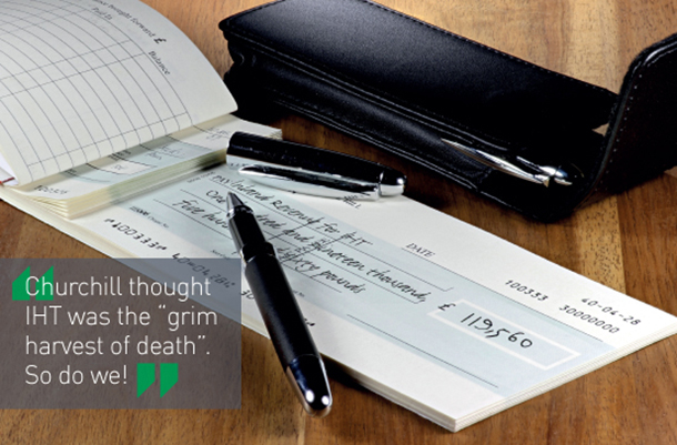 Cheque book image for seminar and speak to an expert page