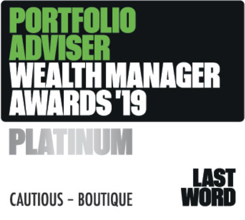 Portfolio Adviser wealth manager awards Platinum